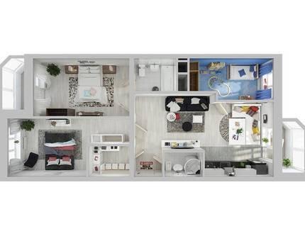 Евроквартиры в ЖК Союзный - новый тип жилья! — Фото