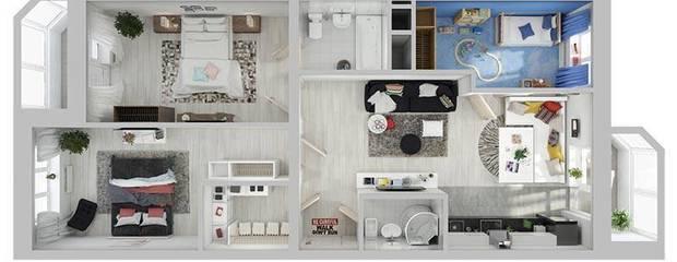 Евроквартиры в ЖК Союзный - новый тип жилья! - Фото