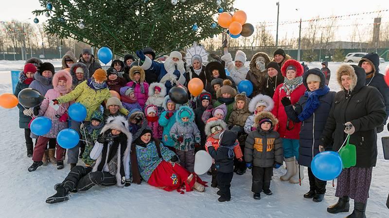 Жители Новых Ватутинок отпраздновали новогодние каникулы