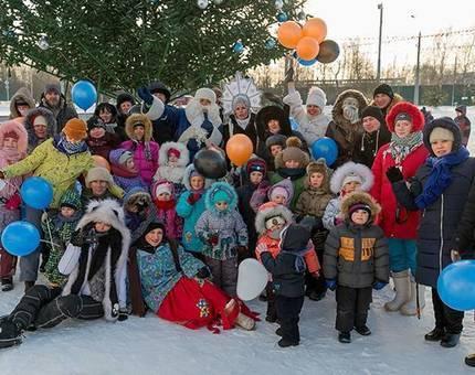 Жители Новых Ватутинок отпраздновали новогодние каникулы — Фото