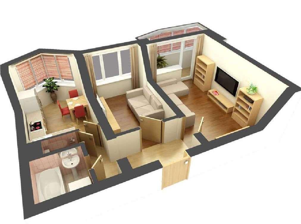 Ремонт 2х комнатных квартир