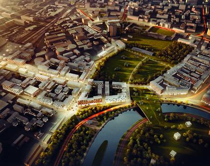 Будет город-сад: новая жизнь промышленных районов - Фото