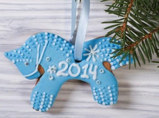 Синяя деревянная лошадь: 14 новаторских элементов интерьера к новому 2014 году