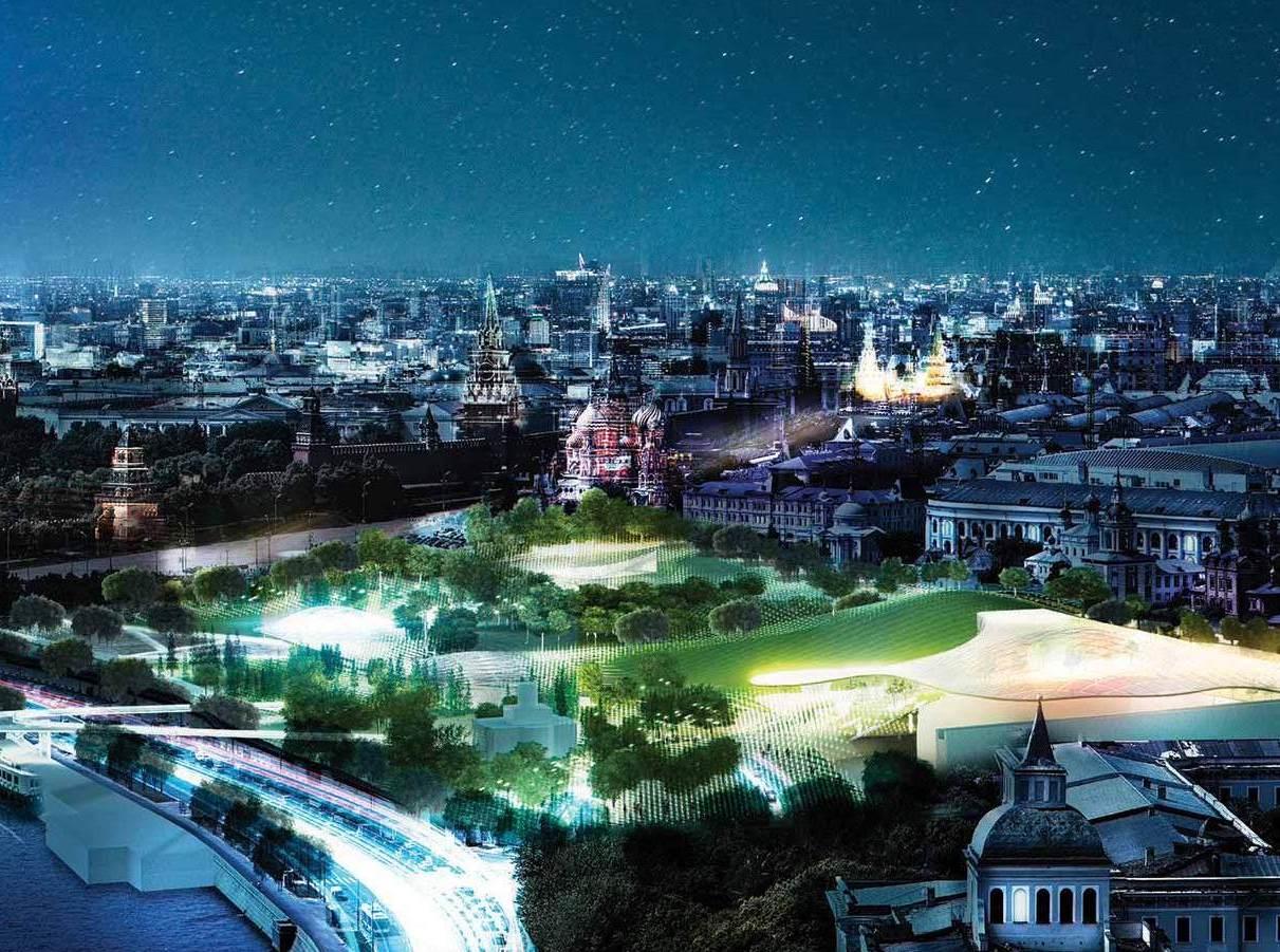 «Зарядье»: подробности самого современного парка