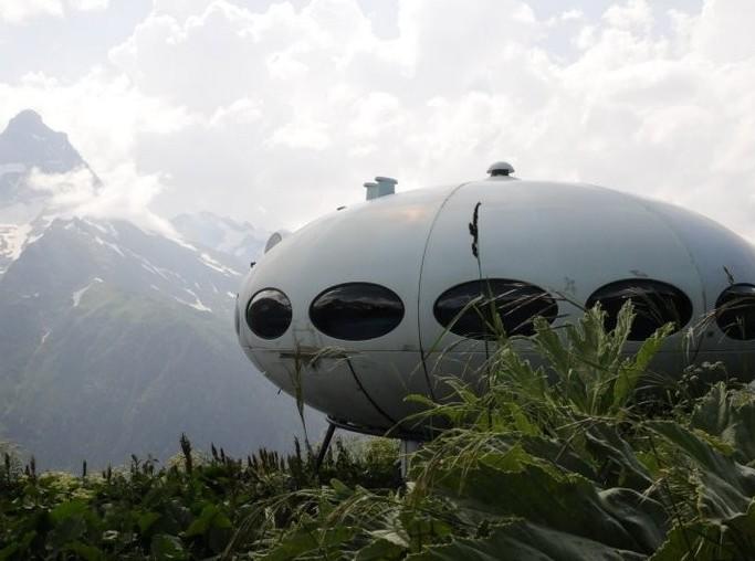К полету готов: дома в виде летающих тарелок