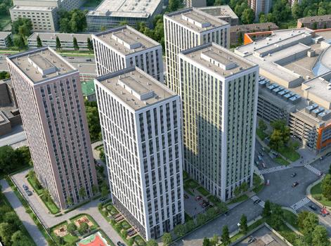 МФК «Водный»: апартаменты строятся быстро