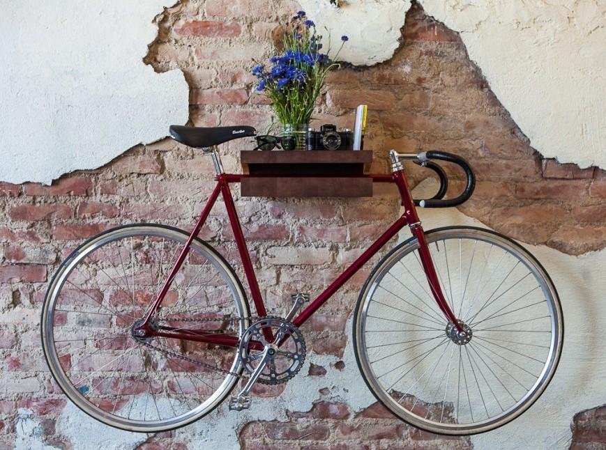 Колеса для комфорта: 9 способов пристроить велосипед в квартире