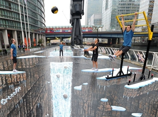 Обман зрения: самые впечатляющие 3D-граффити в мире