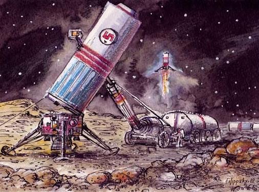На сиреневой Луне: самые грандиозные проекты лунных городов