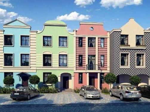 Малоэтажное строительство: квартиры против таунхаусов