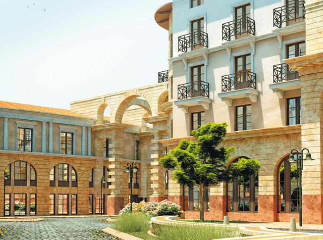 Жилой комплекс «Итальянский квартал» и его классические архитектурные прототипы