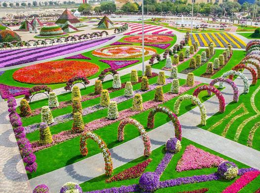 Цветник перфекциониста: четыре самых удивительных парка цветов в мире
