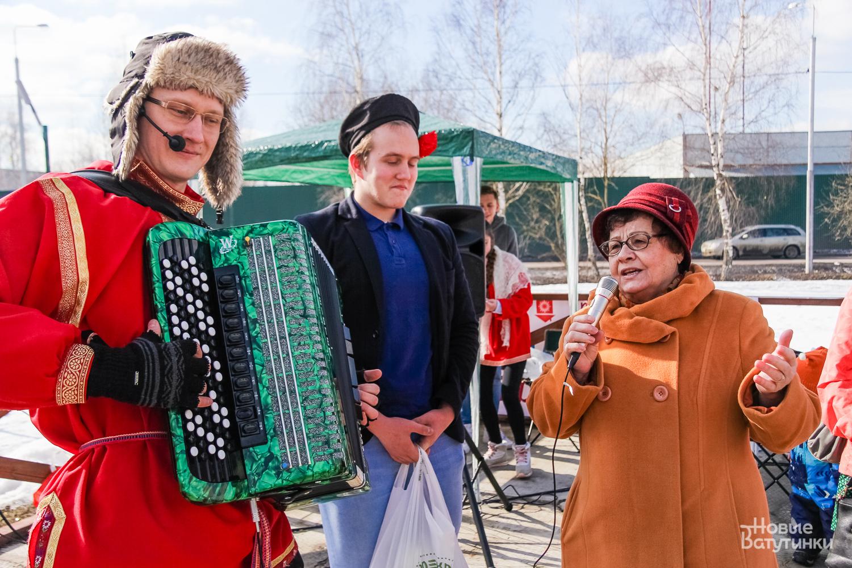 Масленица удалась: в ЖК «Новые Ватутинки» прошел большой праздник