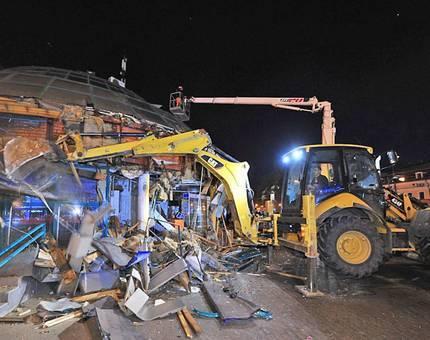 В Москве демонтировали более 90 объектов самостроя - Фото