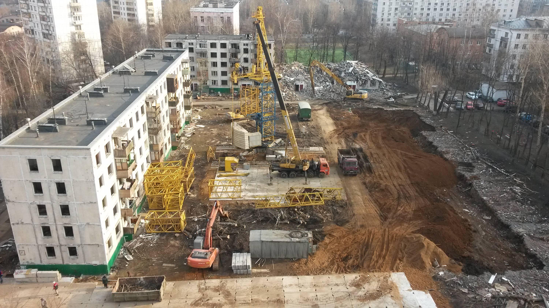 Столичным пятиэтажкам при реконструкции надстроят этажи