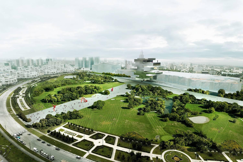 На Ходынском поле через год появится парк