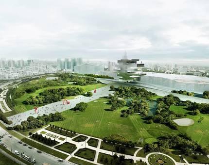 На Ходынском поле через год появится парк - Фото