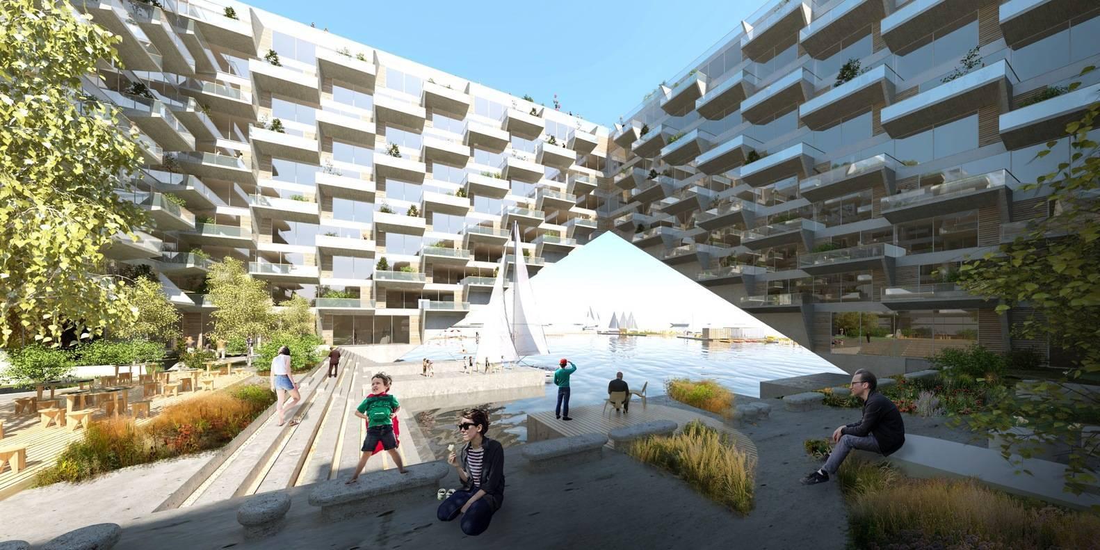 В Амстердаме возведут плавучий жилой комплекс