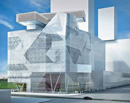 На ЗИЛе возведут филиал Эрмитажа в духе конструктивизма - Фото