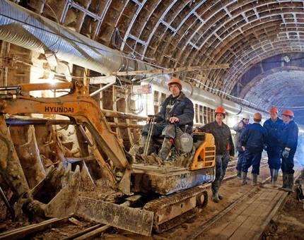 В 2017 году в Москве откроется 16 новых станций метро - Фото