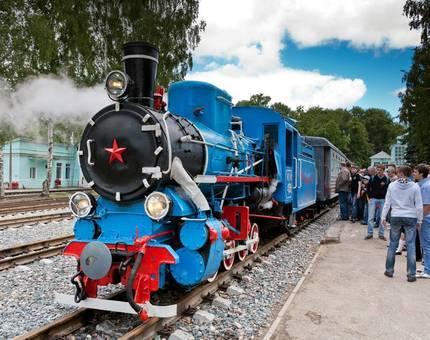 Детская железная дорога появится в Крылатском - Фото