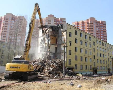 В Москве остается снести менее 80 старых пятиэтажек - Фото