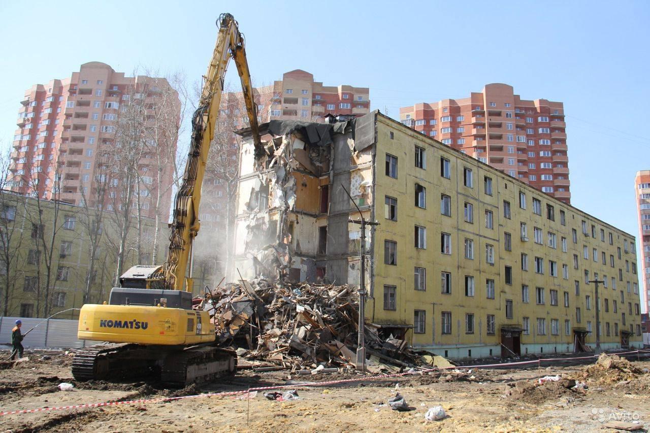 В Москве остается снести менее 80 старых пятиэтажек