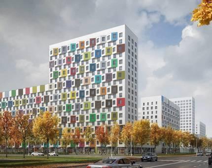 В Москве построят жилой комплекс с фасадами 45 оттенков - Фото