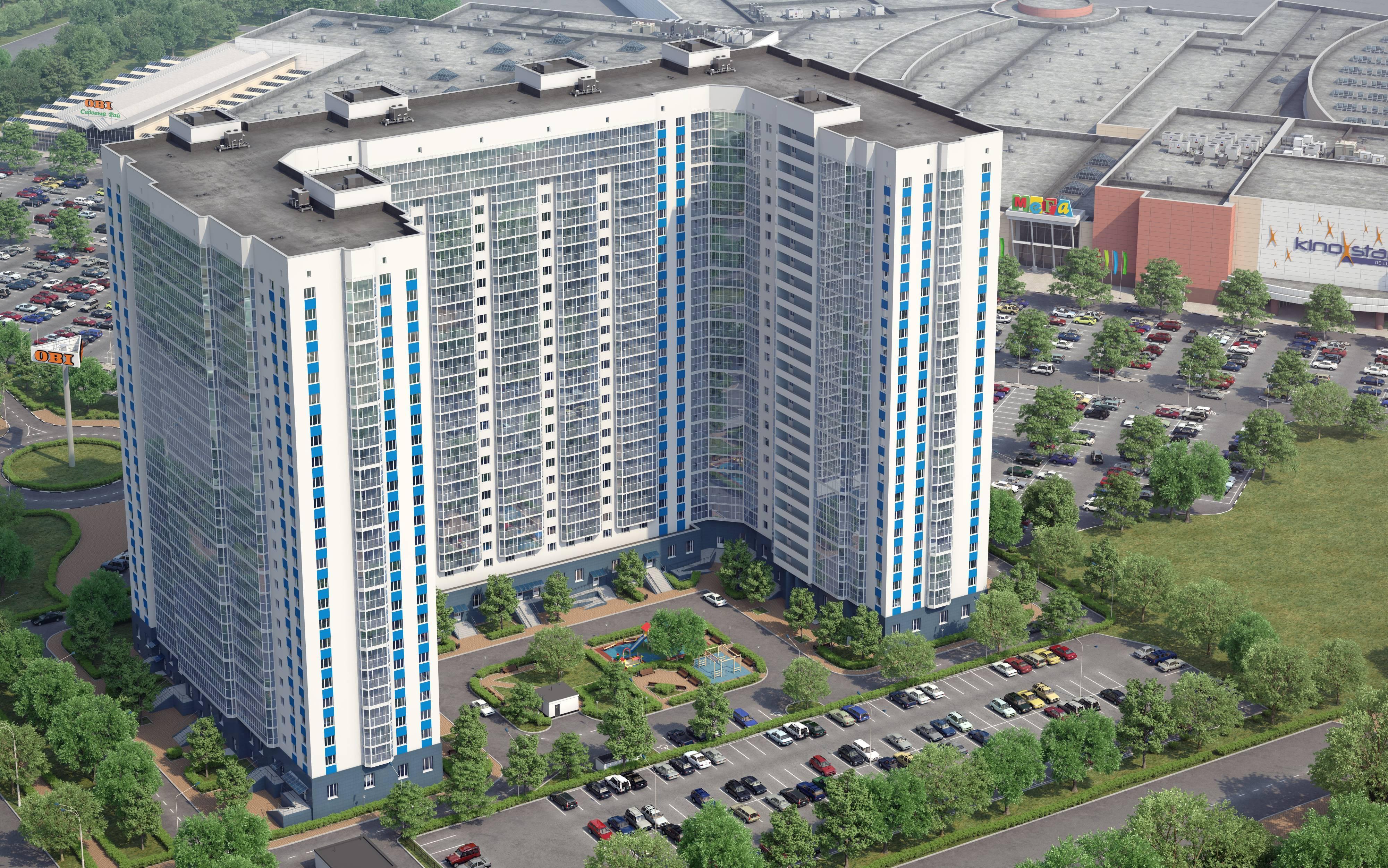 В ЖК «Менделеев» готовые квартиры с отделкой за 4,2 млн рублей