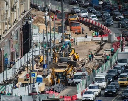 В 2017 году в Москве реконструируют более 80 улиц - Фото