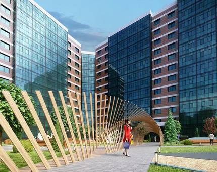 В Сколково завершилось строительство энергоэффективных апартаментов  - Фото