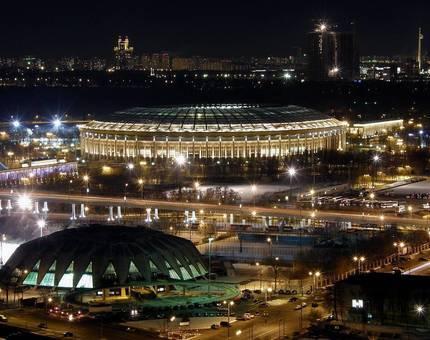 В «Лужниках» установят полторы тысячи новых фонарей - Фото