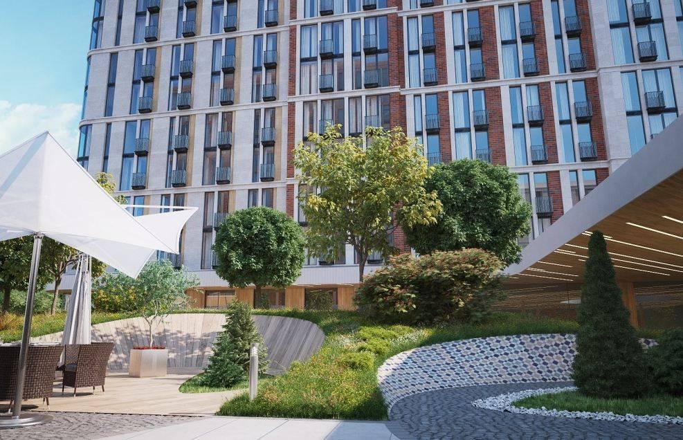 «Воробьёв Дом» - первый в России жилой комплекс с технологией Schindler Port