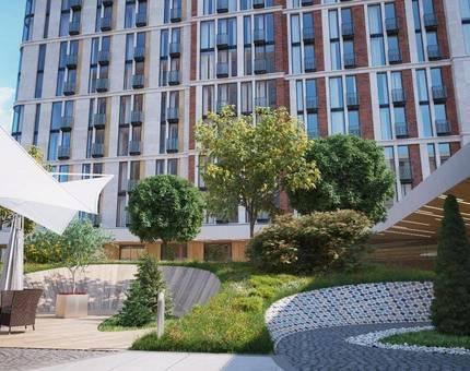 «Воробьёв Дом» - первый в России жилой комплекс с технологией Schindler Port - Фото