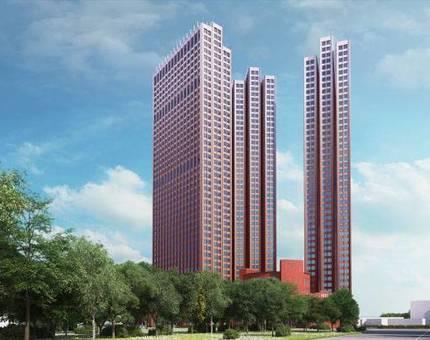 Строительная готовность комплекса «Пресня Сити» достигла 10 этажа - Фото