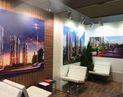 ЖК «Маяковский» - проект с лучшим тематическим стендом на выставке «Недвижимость от лидеров» - Фото