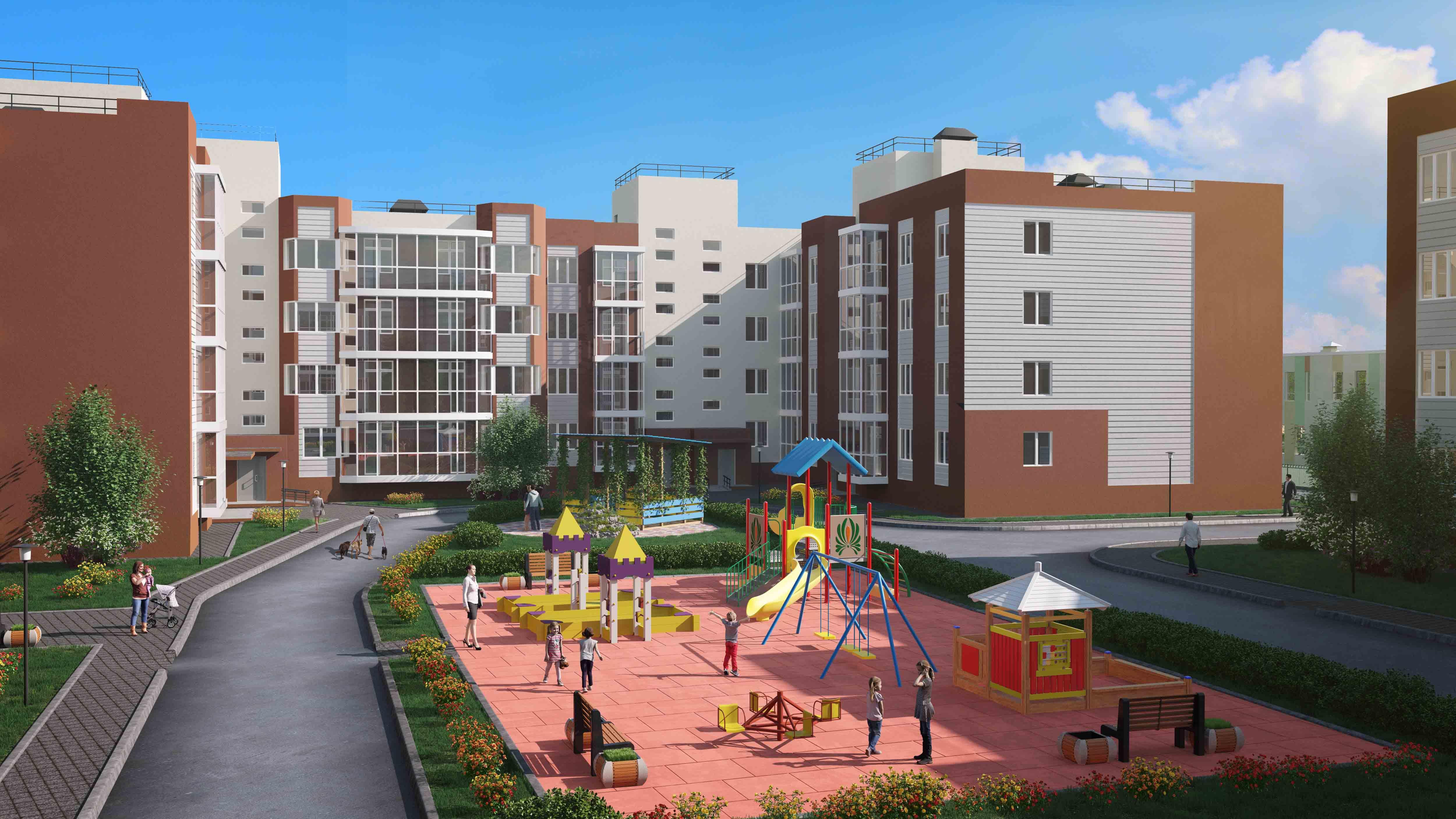 Квартиры в ЖК «Пушкарь» доступны в ипотеку без первого взноса