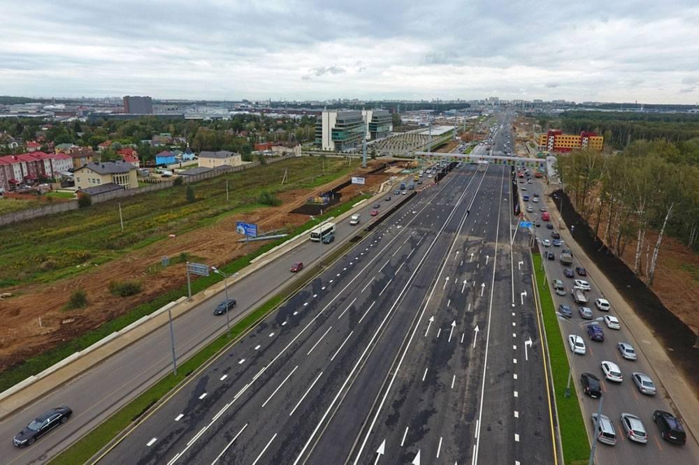 Скоростная магистраль и новая эстакада для жителей Новых Ватутинок