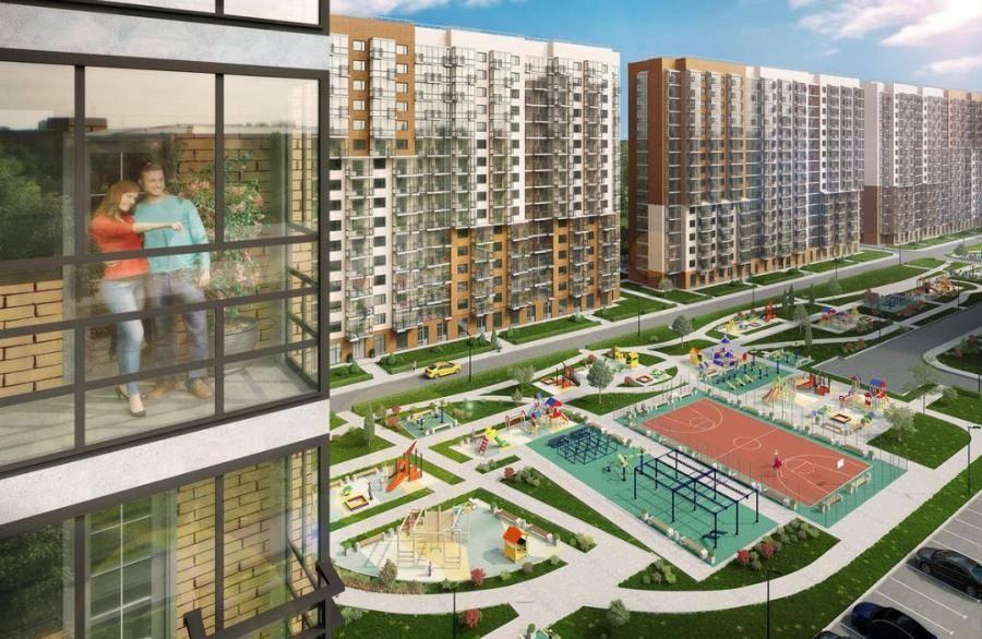 Capital Group в ЖК «Позитив» приступил к фасадным работам