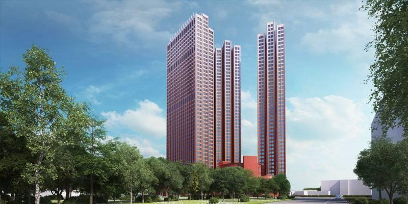 Монолитные работы в многофункциональном комплексе «Пресня Сити» выполнены на 70%