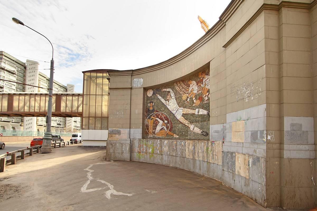 Мозаичные панно 60-х годов ХХ века украсят территорию ЖК «Царская площадь» после реставрации