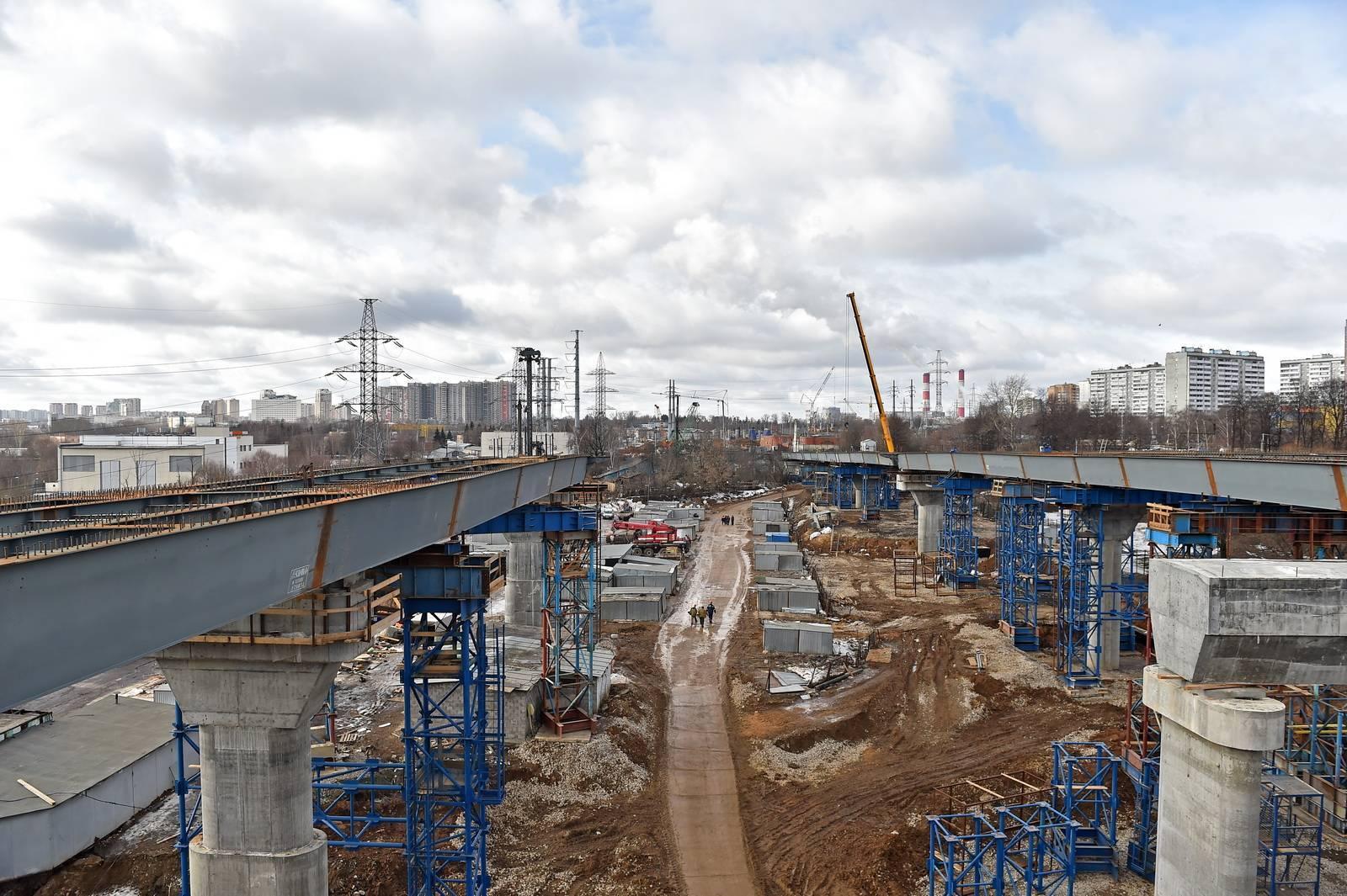 На строительстве Северо-Западной хорды трудятся пять тысяч рабочих