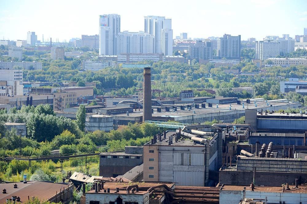 Московские промзоны застроят за 30 лет