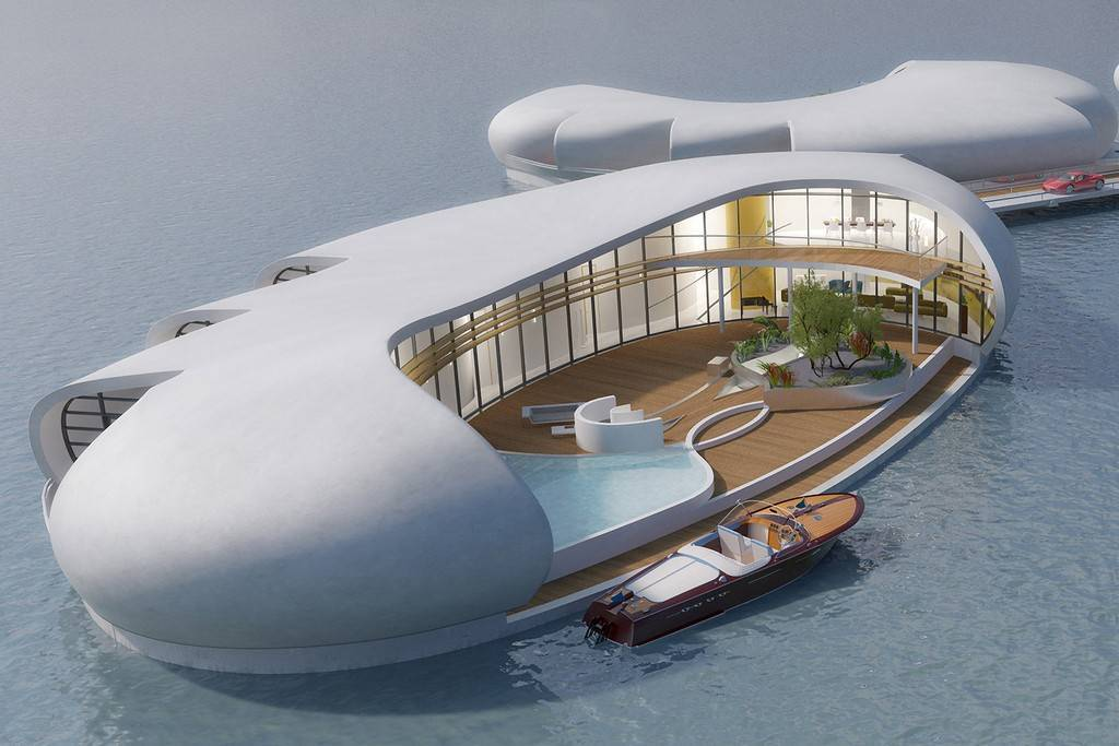 Голландцы хотят строить в Дубае плавающие дома