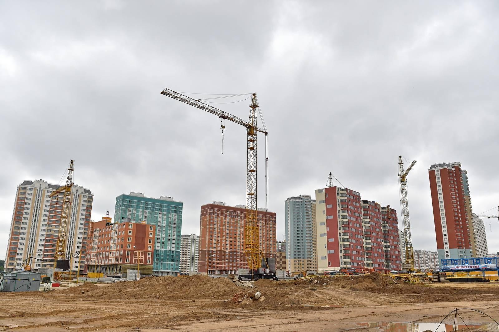 К 2019 году в столице возведут более 80 домов новых серий