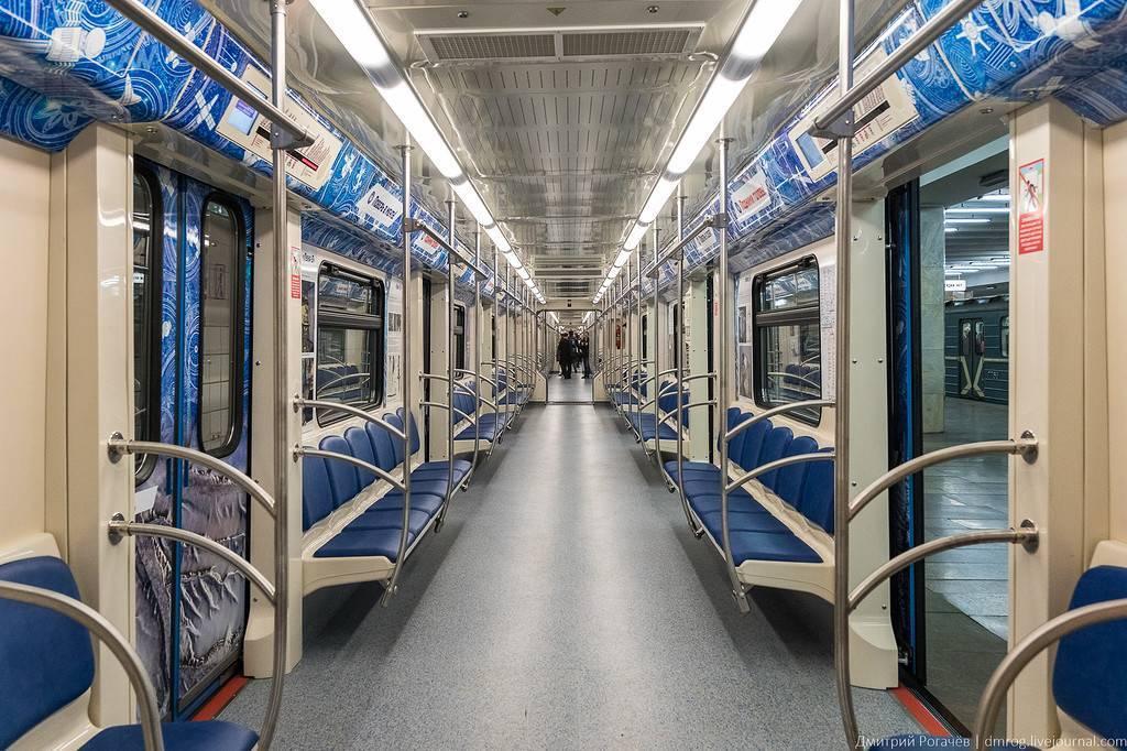 На территории ВДНХ покажут новый поезд метро