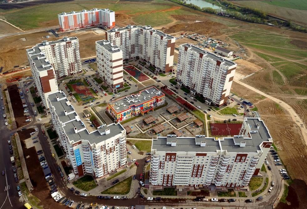 Район Новые Ватутинки отмечает первый юбилей