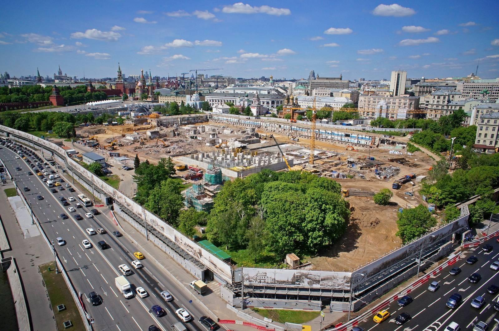 На обновленной схеме метро Москвы появятся парки