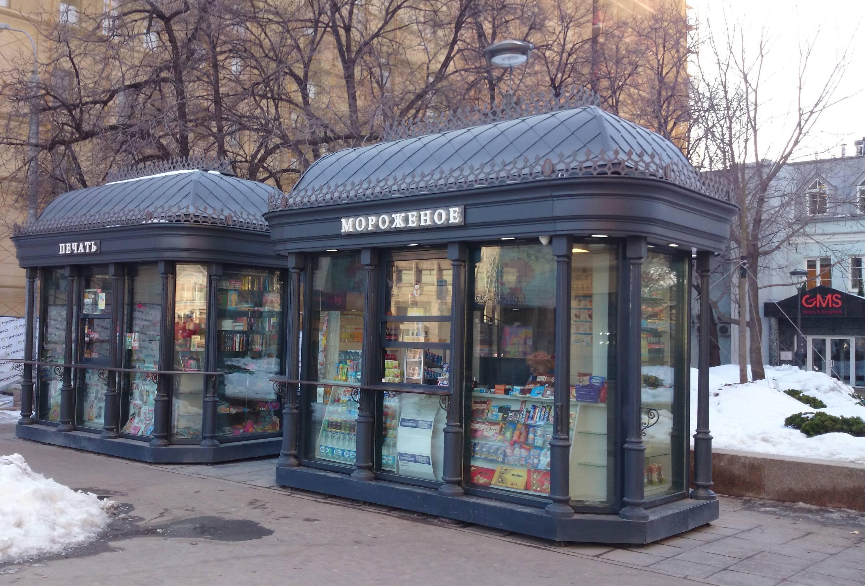 Дизайн новых московских киосков напомнил главе Минстроя Ярославский вокзал