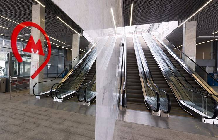 На МЦК запустили «умные» эскалаторы
